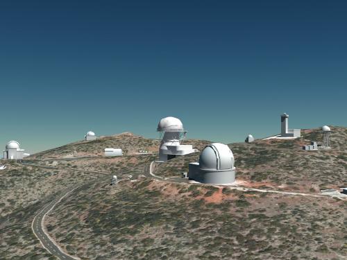 Evaluation process for a possible location of EST at Observatorio Roque de los Muchachos