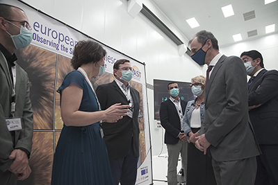 Spanish Minister of Science and Innovation visits EST Project Office