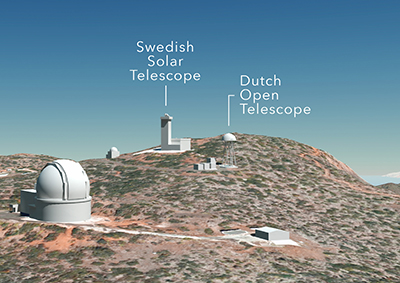 EST location at Roque de los Muchachos Observatory approved