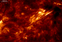 ESPN-1: Heating of the solar chromosphere by acoustic waves
